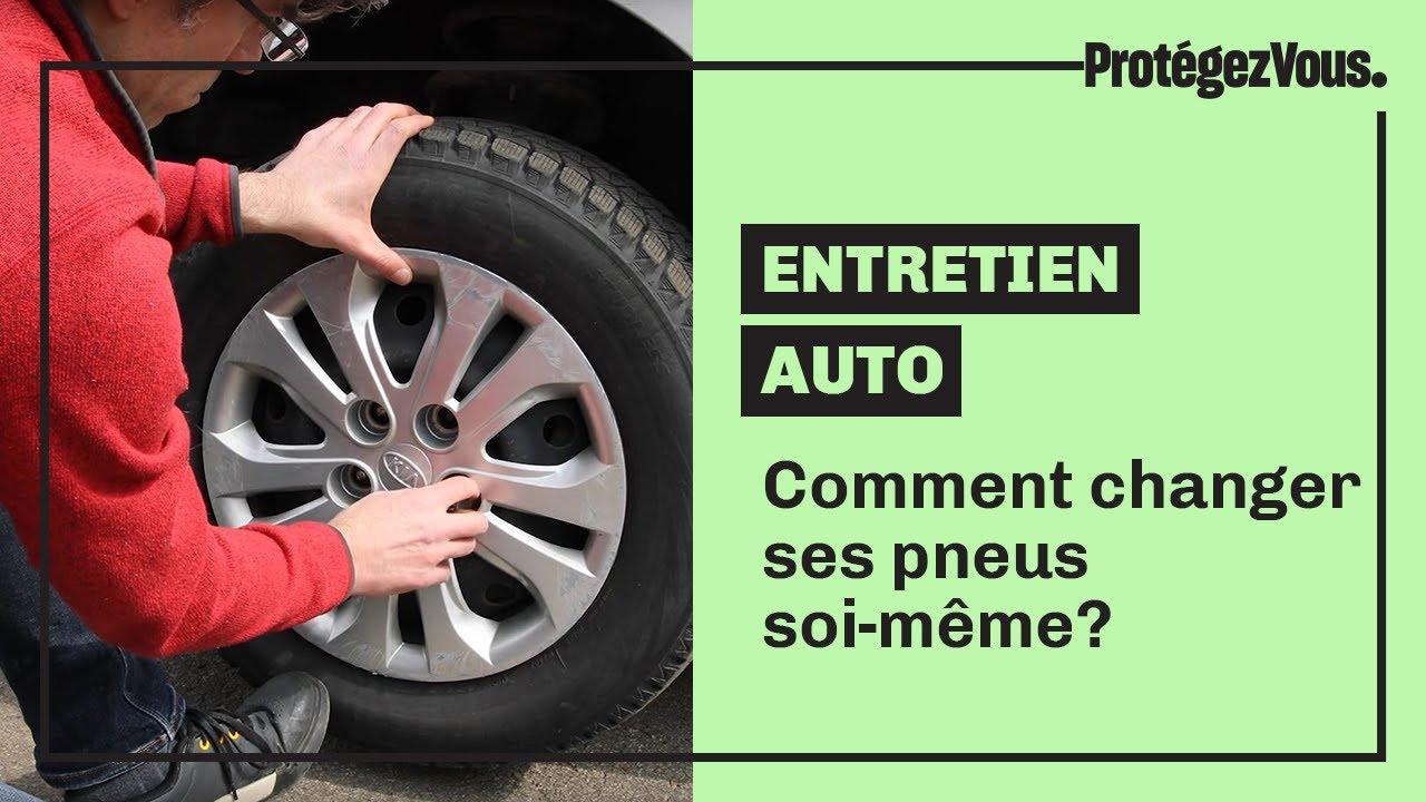 Comment changer ses pneus soi-même