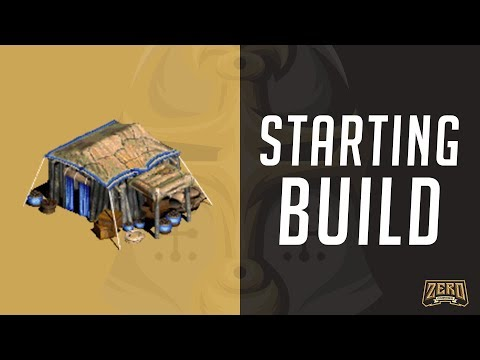 Your First Build Order - AoE2 New Player Guide