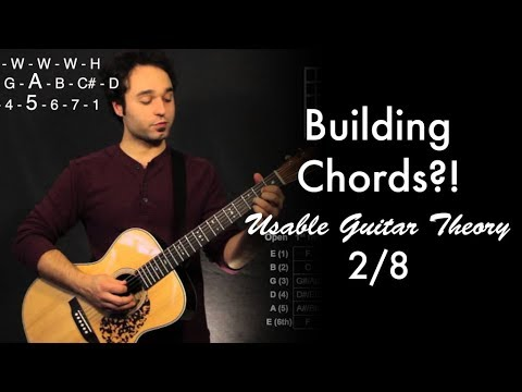 Building Chords?! | Usable Guitar Theory 2/8