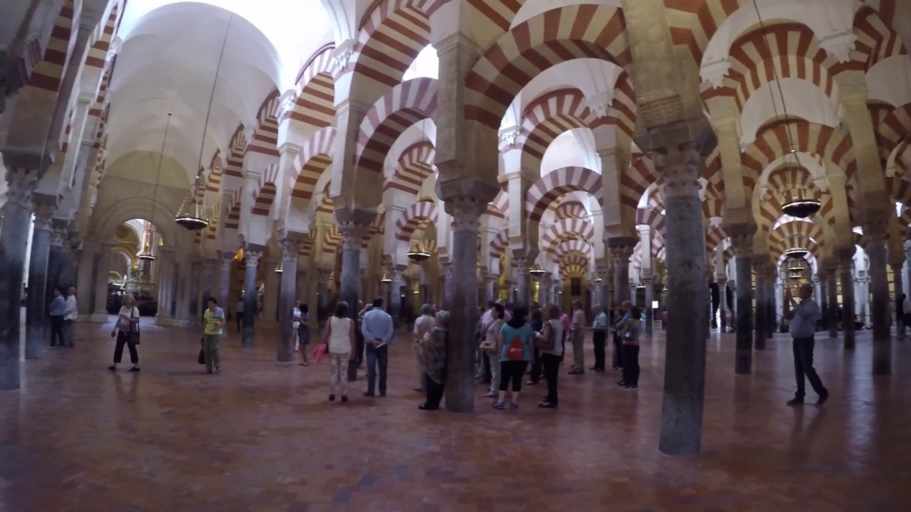 mosque cathedral of cordoba spain youtube