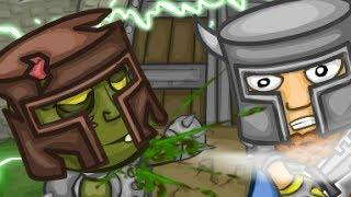 Knights Vs Zombies Level 1-3 Walkthrough