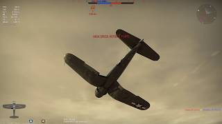 War Thunder | F4U-4 Foggy  Fun