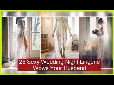 25 Sexy Wedding Night Lingerie Wows Your Husband - Beauty bloggers. http://bit.ly/2kYTpur