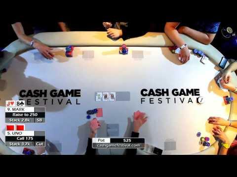 Cash Game Festival 27.11.2015 / Texas Holdem Poker 10€-25€ Blinds