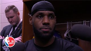 LeBron James: 'I assert my will when I step on the floor' | NBA Sound