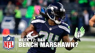 Are The Seahawks Better Off Without Marshawn Lynch?  (Week 17) | R&B | NFL Total Access