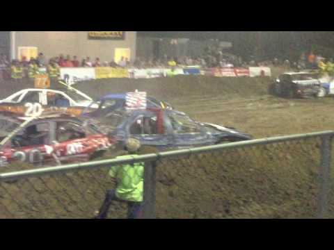 Sarpy County Fair Demolition Derby - Compacts