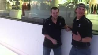Worst ice Skater ever Corey Crunk