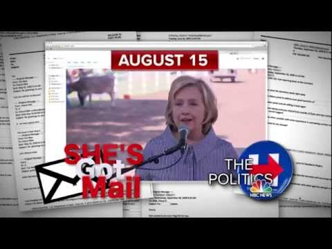 She's Got Mail: What Hillary Clinton has Said about her Private Email Server