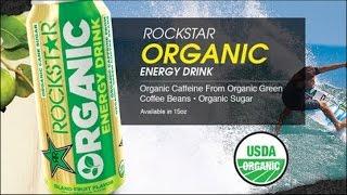 Carbs - Rockstar Organic Energy Drink Island Fruit Flavor