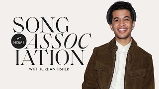 Jordan Fisher Sings Bruno Mars, The Chainsmokers, & Hilary Duff in a Game of Song Association | ELLE