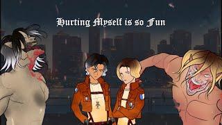 Download Cameron Sanderson X Gun Boi Kaz: Hurting Myself Is So Fun [LYRIC VIDEO]