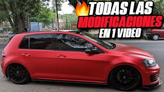 TODAS LAS MODIFICACIONES DEL GTI EN UN SOLO VIDEO!!