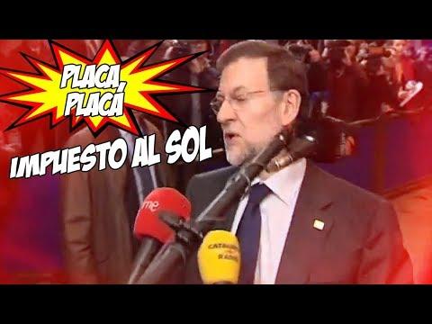 """""""Placa, Placa"""", ¿el nuevo éxito del verano con Rajoy de protagonista?"""