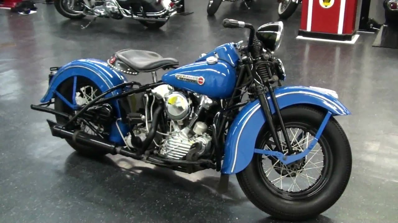 1947 Harley-Davidson Knucklehead - YouTube