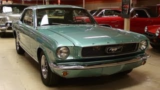 1966 Ford Mustang 289 V8 Coupe