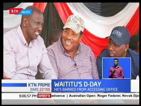 Watitu to know his fate Tomorrow after his impeachment by Kiambu county assembly