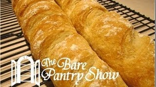 Easy Homemade Baguettes: No Yeast Proofing