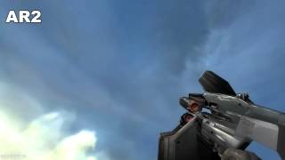 half life 2 all weapons in slow motion full hd max details hf2