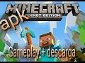 Minecraft pe 0 14 0 gameplay + apk descarga android