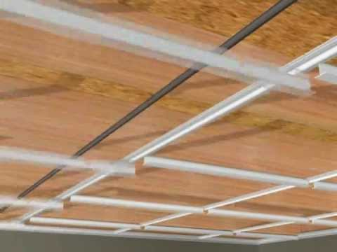 Surface Ceiling Grid Youtube