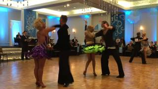 Professional American Rhythm : Mambo –  2016 Snow Ball DanceSport Competition
