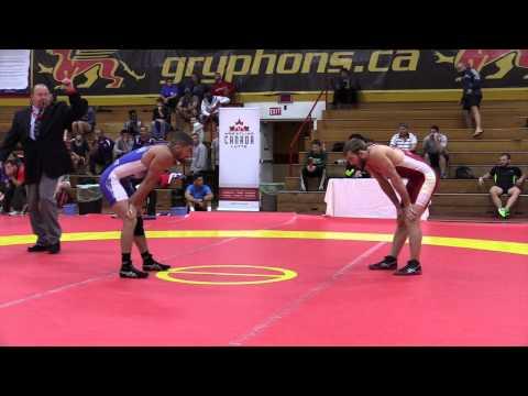 2015 World Team Trials: 61 kg Scott Schiller vs. Aso Palani