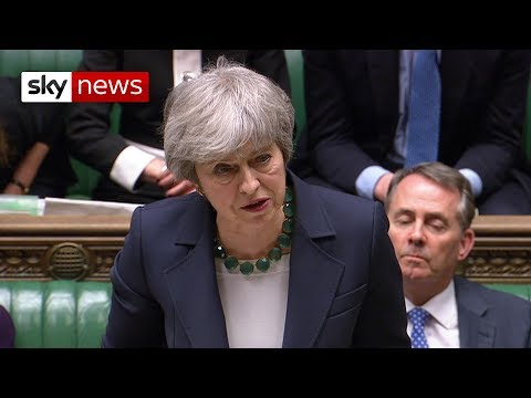Theresa May: MPs need to face up to the consequences of their actions