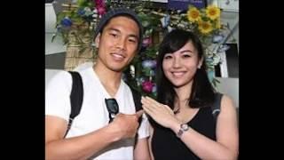 WBA世界フライ級王者の井岡一翔(28=井岡)が歌手谷村奈南(29...