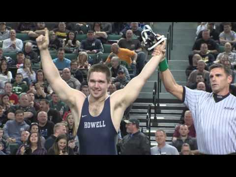Howell's Eric Keosseian wins 220 pound state wrestling championship