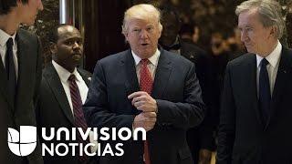 Trump espera confirmar todas las nominaciones para su gabinete sin ninguna complicación