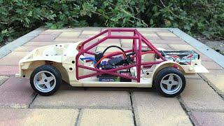 3D Printed RC Drift Car Toyota AE86