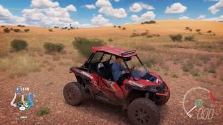 2015 Polaris RZR XP 1000 ESP - Speed Jump Crash Test - Forza Horizon 3 - 1440p 60fps