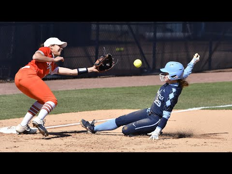 UNC Softball: Carolina Stumped By Syracuse, 9-5