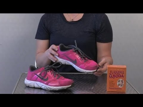 How to Remove Odors From Tennis Shoes at Home : Cleaning Shoes : how-to-remove-odors-from-home - designwebi.com