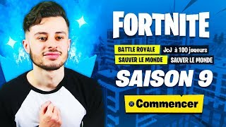🔴 DEDÉCOUVERTE OF COMBAT SAISON 9 ON FORTNITE! FULL SEASON 9! 😱