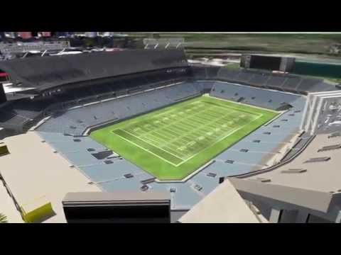 Orlando Citrus Bowl Flythrough