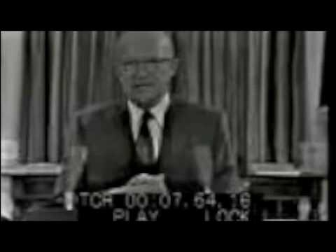 an analysis of eisenhowers farewell address Reconceptualizing rhetorical history: eisenhower's farewell analysis of the speech and one exploration into its that eisenhower's farewell address.