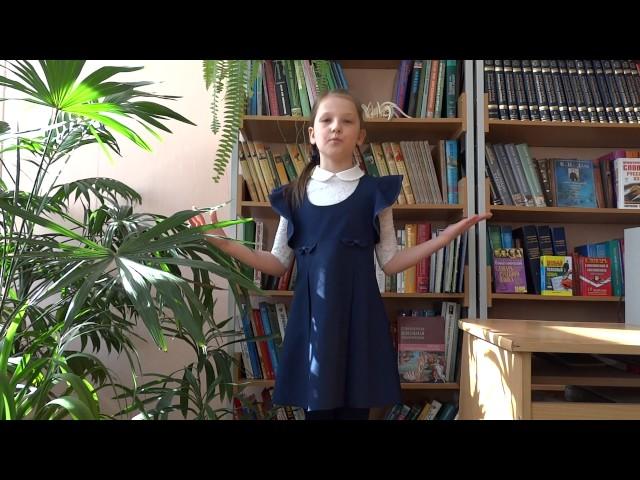 Изображение предпросмотра прочтения – ВасилинаСтругова читает произведение «Смотри, как роща зеленеет…» Ф.И.Тютчева