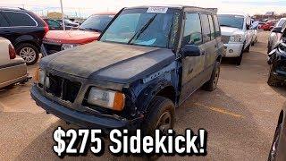 Copart Walk Around 12-5-19 + $275 Suzuki Sidekick