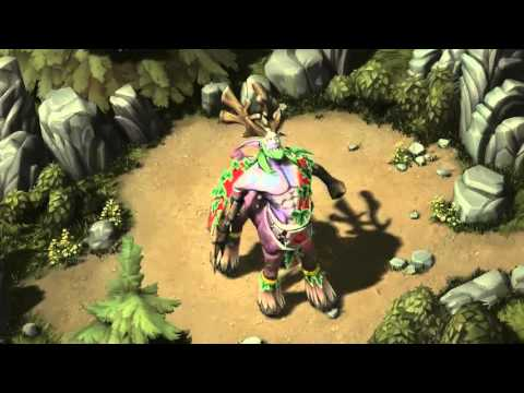 warcraft 3 characters' animations for Blizzard Starcraft 2 arcade