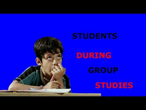STUDENTS DURING GROUP STUDIES