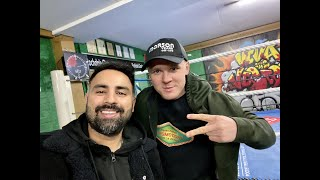 KIERAN FARRELL BEM: PREVIEWS M22 PROMOTIONS SUNDAY 19TH SHOW AND GETS DEEP ABOUT HIS BOXING JOURNEY