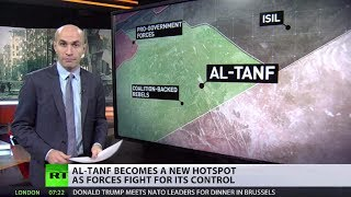 New Syrian Hotspot: Forces fight for control over Al-Tanf city