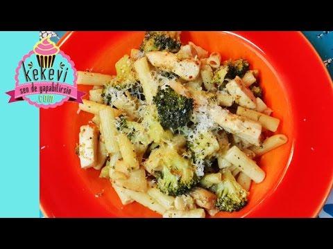 Tavuklu Brokolili Makarna / Sebzeli Makarna Tarifi | Kolay Yemek Tarifleri 11. Bölüm | Ayşenur Altan