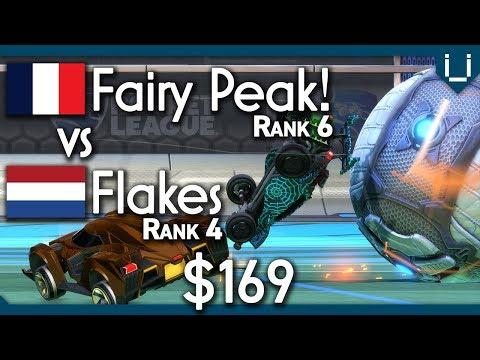 Fairy Peak! vs Flakes (Rank 2 EU) | $169 Rocket League 1v1 thumbnail