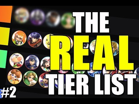 The Smash Ultimate Tier List But It's Actually Based On Results - MONTH 2 thumbnail