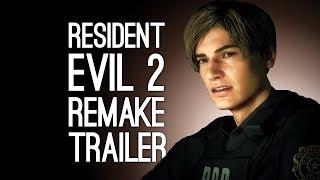 Resident Evil 2 Remake Trailer: Cinematic Trailer for Resident Evil 2 HD at E3 2018 Sony Conference