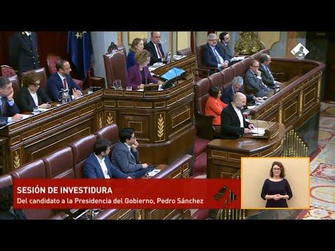Intervención de Néstor Rego na 2ª sesión de investidura de Pedro Sánchez