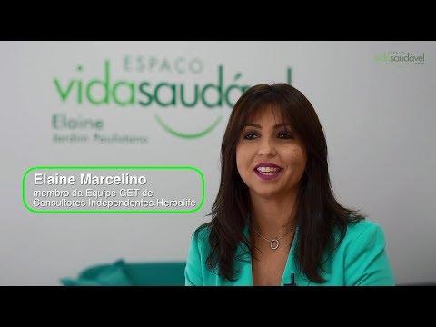 História de Sucesso com Espaço Vida Saudável: Elaine Marcelino